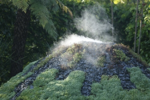 Le volcan Maori Co E. Sander