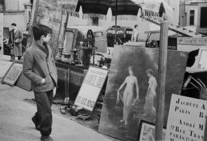 Marché aux puces. Paris, 1952