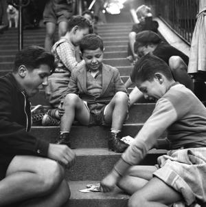Montmartre. Paris, 1952