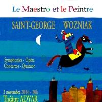 Saint-George/Wozniak, le maestro et le peintre