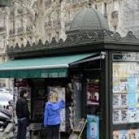 Nelly Todde, kiosquière à Paris